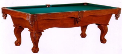 Presidential Series Saratoga pool table chestnut