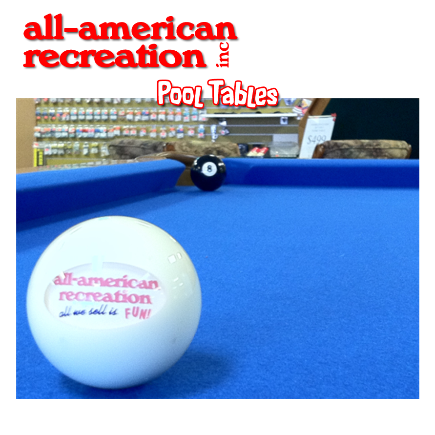 Twin Cities All American Recreation logo billiard ball