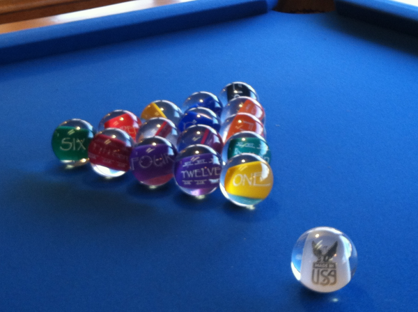 How Can You Find The Perfect Billiard Balls - Clear pool table