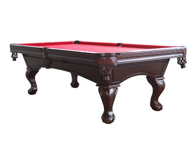 Vintage slate pool table
