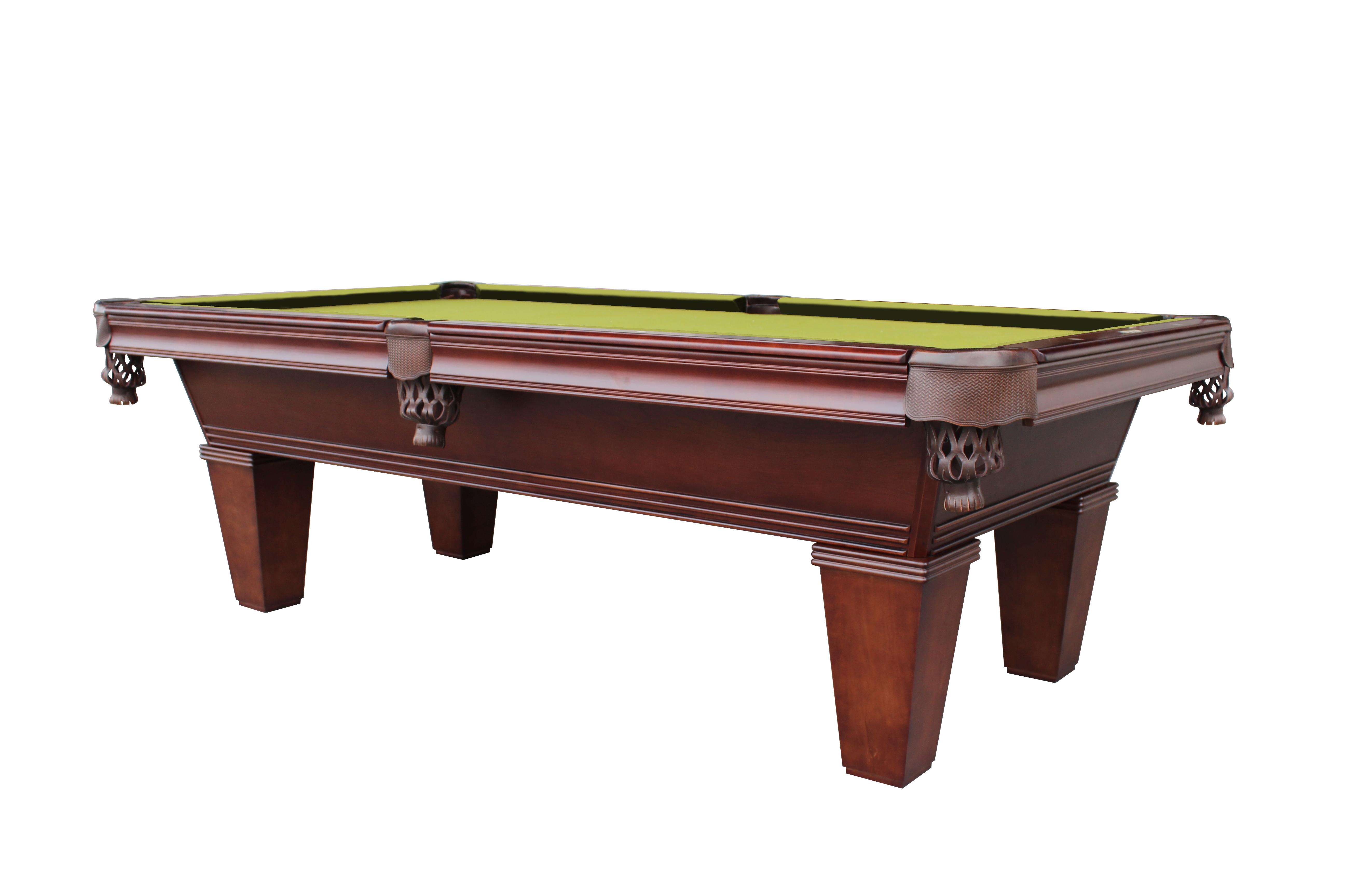 Elite Series Cascadia pool table walnut
