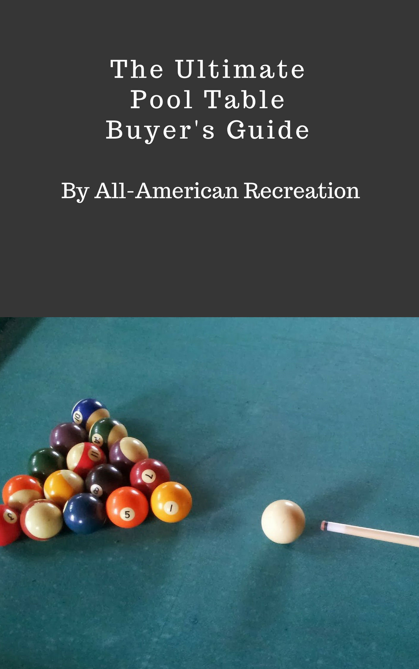 Pool Table Buyer's Guide by All-American Recreation