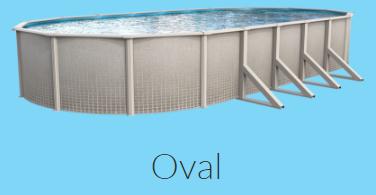 Sharkline Reprieve Oval Closeout Pool